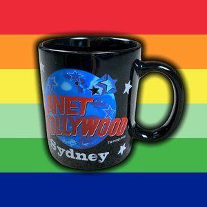 Vintage 1991 Planet Hollywood Sydney Mug